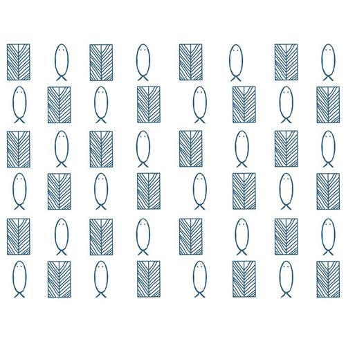 Femi – Symbols of YEMOJA Art Print