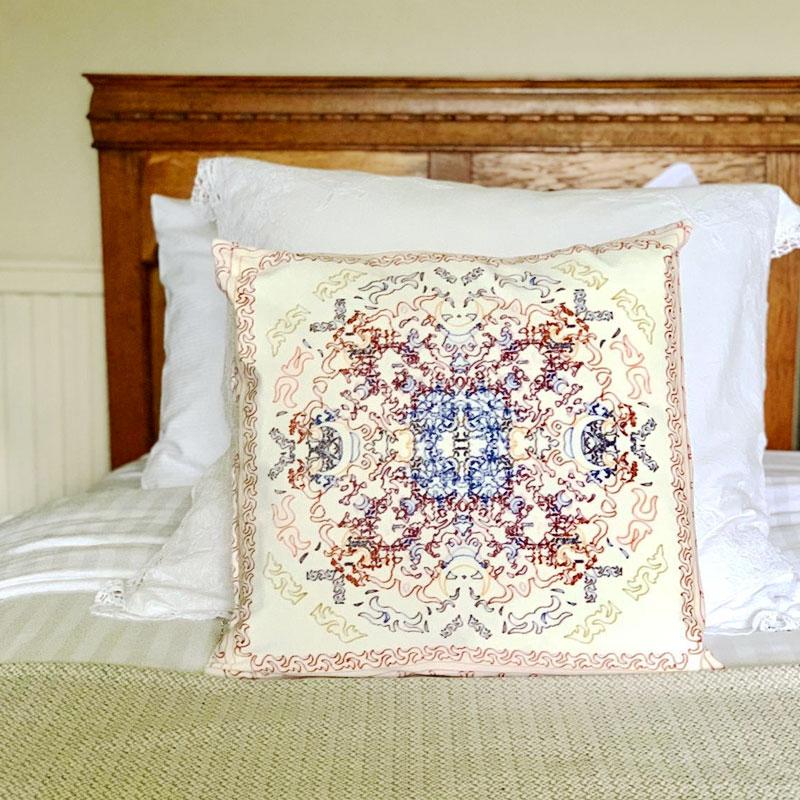 Femi - Cushion on Bed