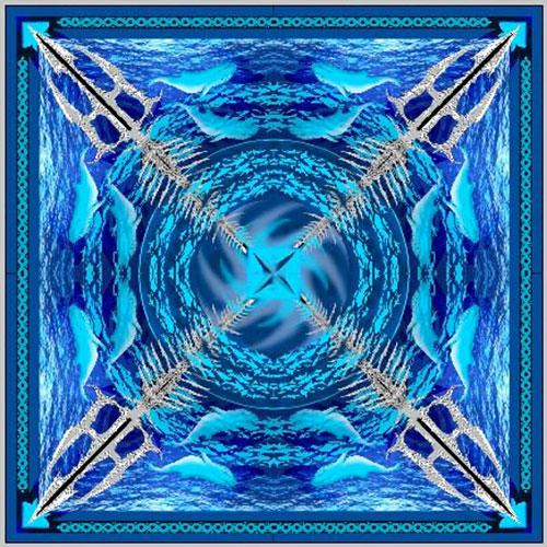 Femi – OLOKUN Force of the Whirlpool Art Print