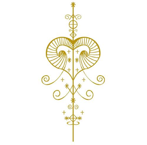 Femi – Symbols of OSHUN Art Print